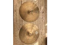 """Ibrahim Diril 14"""" Jazz Hi Hats Cymbals"""