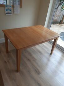 Dining table & 6 chairs, extendable, can deliver locally.