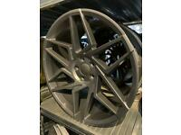 "20"" alloy wheels alloys rims tyres Vw Volkswagen seat Skoda Audi Mercedes Bmw 5x112"
