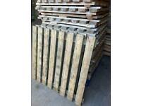 Heavy Duty Wooden Reclaimed Pallet Racking Boards Fencing Wood Timber