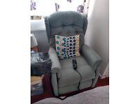 Electric lifter reclining chair