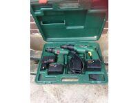 Cordless drill and screwdriver bosh