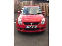 Suzuki Swift 1.5 GLX, 2009, 14k miles only - Immaculate!