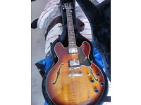Gibson 335 No! Vintage Electra 335 Elvin Bishop Model 2281, made in Japan 1977 Rare and Collectable