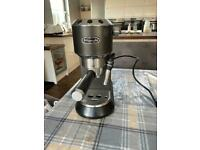 For sale delonghi coffee machine and milk frother