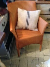 LLOYD LOOM ARM CHAIRS VINCENT SHEPPARD X 4 SAND COLOUR CONSERVATORY LIVING ROOM