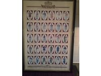 CIGARETTE CARDS. Castella Cigars. SOLDIERS OF WATERLOO (Extra-Large) (1995) (Complete Set)