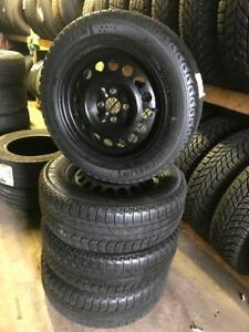 195 60R 15 MICHELIN X ICE Xi3 WINTER SNOW TIRES & RIMS 4X100 BOLT 6/32NDS HONDA SUBARU NISSAN SUZUKI
