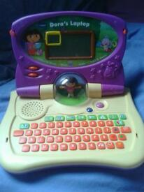 Dora the Explorer Interactive LAPTOP