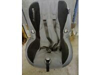 CAN DELIVER Maxi cosi grey black car seat child baby chair approx 9months-4years 9-18kg reclines