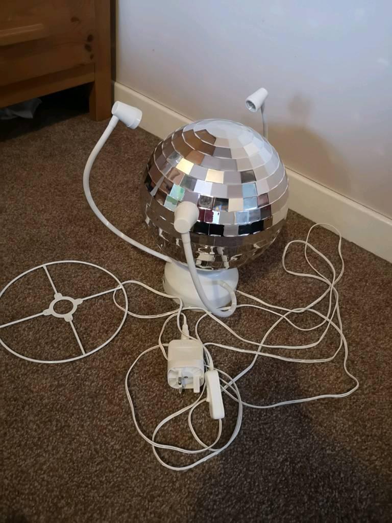Kids Ikea Disco Ball Light