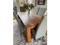 Barker & Stonehouse dining table and chairs