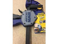 Irwin quick grip clamp brand new.