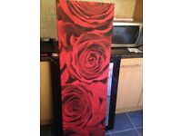 Large rose canvas