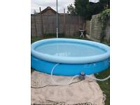 12ft swimming/paddling pool