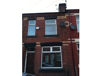 Spacious, unfurnished two bed terrace available to let