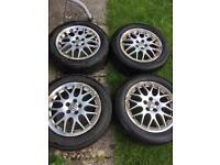 16inch Bbs alloy wheels mk4 golf