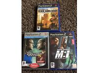 Play station 2 games x 3