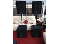 Band Speakers/PA equipment for sale