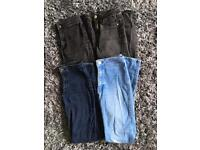 Women's size 8 High Waisted Skinny Jeans