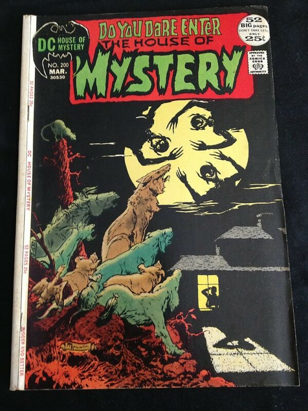 HOUSE OF MYSTERY #200 VG- Condition