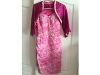 Rowberrys mother of bride outfit pink 8-10. Must see