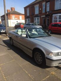 BMW E36 Convertible 1.8 petrol