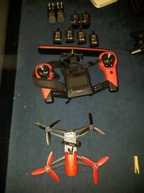 Parrot bebop drone with skycontroller and 6 batterys and two charges