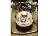 Baby swinging/rocking chair