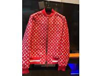 Louis Vuitton Supreme Leather Jacket Unworn
