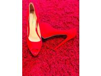 Hight heels red shoes