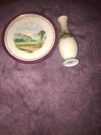Vintage antique ceramic vase