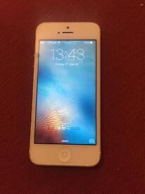 Apple iPhone 5 gold 16gb unlocked