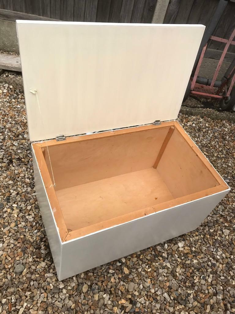 solid wood toy box (can deliver) | in norwich, norfolk | gumtree