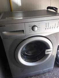 Silver Beko Washing Machine Excellent Condition Fully Working Order £75 Sittingbourne