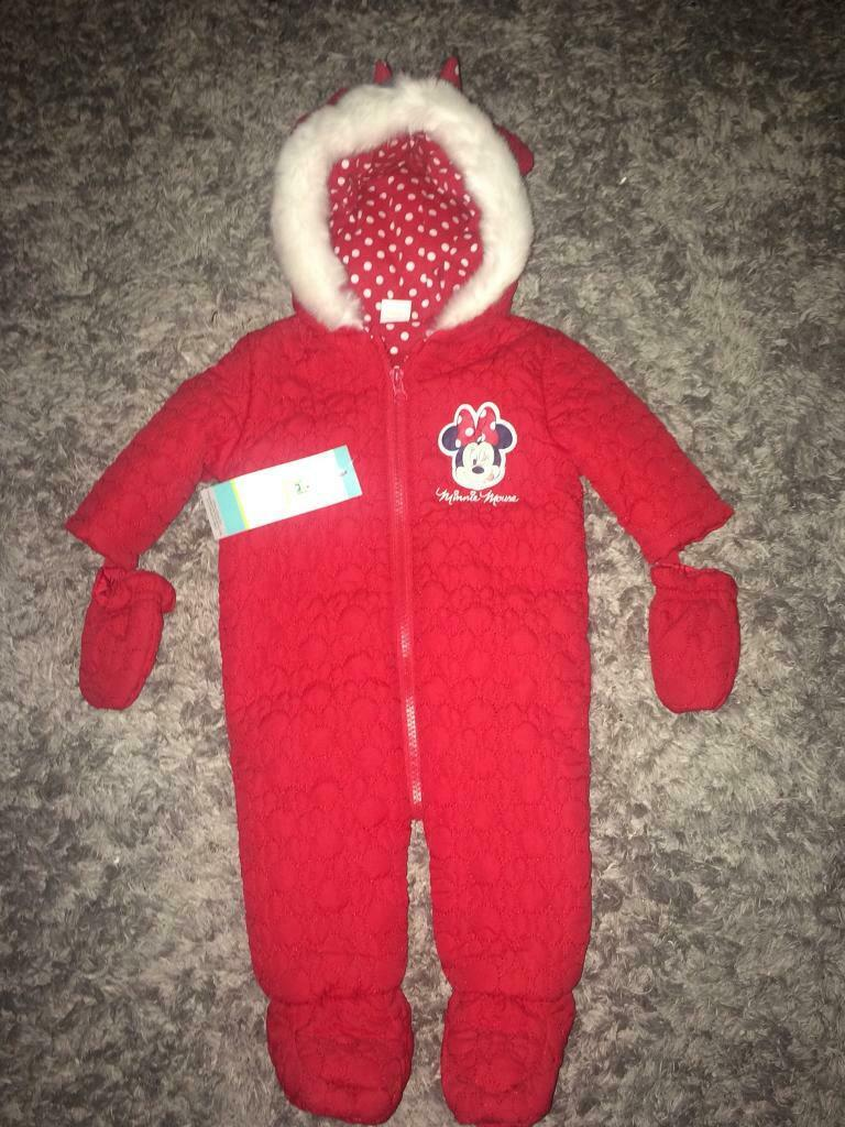 8346e42a4 Girls Minnie Mouse Snowsuit - New | in Whitley Bay, Tyne and Wear ...
