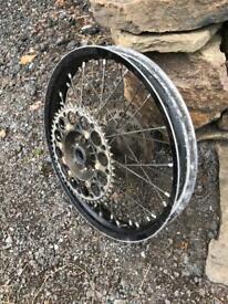 Kawasaki Rear Dirt Bike Wheel KX KXF