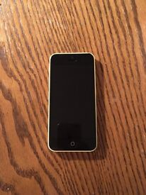 iPhone 5c in yellow, 6GB on EE all I working order. Few marks on the phone all shown in pictures.