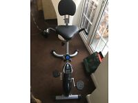 Pro Fitness exercise bike chair
