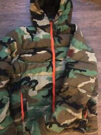 Franklin & Marshall (Limited Edition) Camo down puffer Jacket