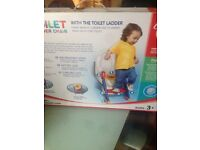 Toilet training steps and seat