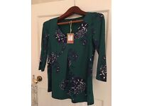 Joules Size 6 Brand New Top With Tags unwanted present