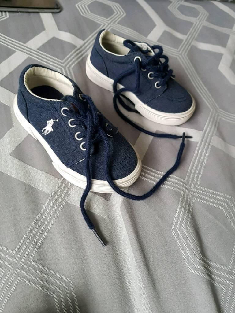 Ralph Lauren & baby loafers size 4