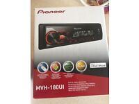 Pioneer MVH-180UI Car Media Stereo Player