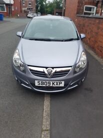 Vauxhall Corsa SXI 1.2 just short of 62000MILES