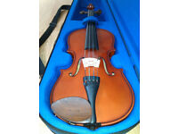 Stentor Student I Violin, 3/4 size, excellent condition, beginner/intermediate, horsehair bow, case