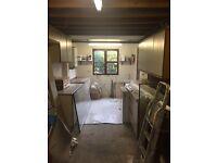 Free units ideal for kitchen or garage workshop
