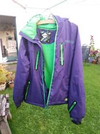 Nevica Size 10-12 - Purple and Green Ski / Snowboard Jacket