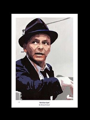 FRANK SINATRA: Old Blue Eyes -  FINE ART PRINT