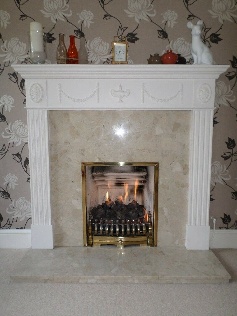 GAS FIRE - coals and flame effect with